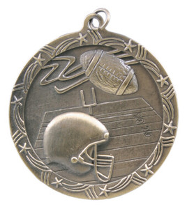 Football Shooting Star Medal