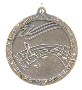 Music Shooting Star Medal