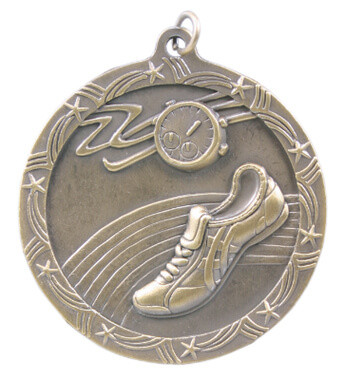 Track Shooting Star Medal
