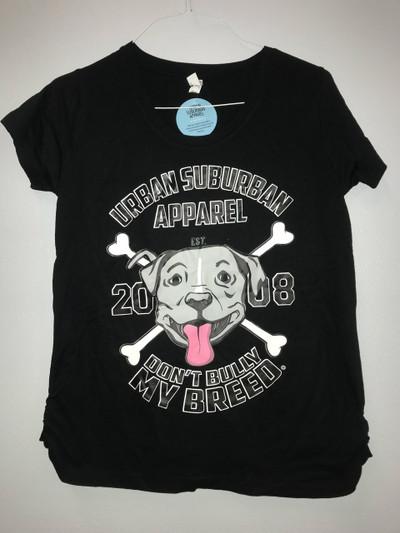 MALACHI Maternity Scoop Neck Fine Jersey T-Shirt