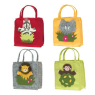 Jungle Puppet Gift Bags (Set of 4)