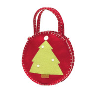 Christmas Tree Purse Gift Bag