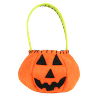 L'il Round Jack O Lantern Treat Bag