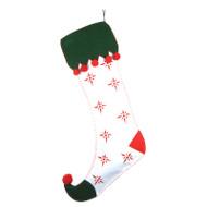 XL Snowflake Christmas Stocking