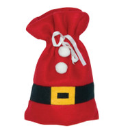 Small Santa Suit Gift Bag