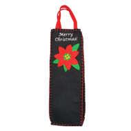 Poinsettia Wine Bag
