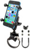 RAM Strap Clamp, Roll Bar Mount with Universal X-Grip® Cell/iPhone Cradle