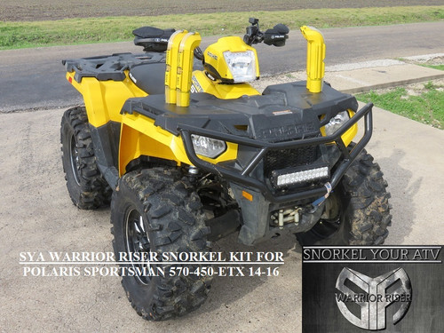 how to build a snorkel for atv