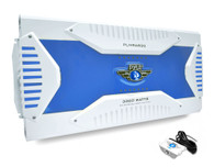 Pyle PLMRA820 Elite Series Waterproof Amplifier, Bridge Ability Amp, 3000 Watt