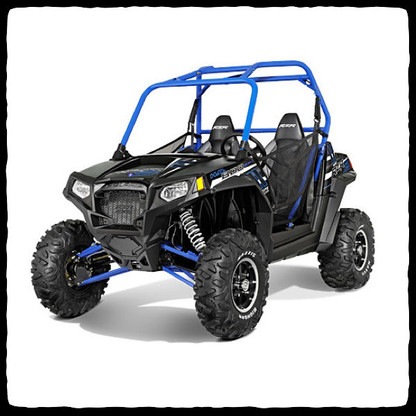 polaris rzr 800 s barker 39 s dual exhaust redneck radios offroad accessories. Black Bedroom Furniture Sets. Home Design Ideas