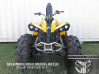SYA WARRIOR RISER SNORKEL KIT FOR CAN AM RENEGADE 2007-2011 500-800-R-X-XC- AND POWER STEERING .
