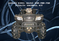 SUZUKI KING QUAD-AXI-EPS 450-500-700-750 STEALTH  SNORKEL KIT ALL YEARS
