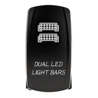 LED Dual Lightbar Rocker Switch
