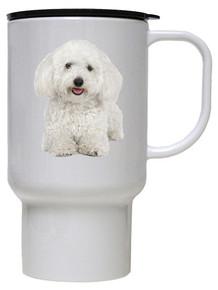 Bichon Polymer Plastic Travel Mug