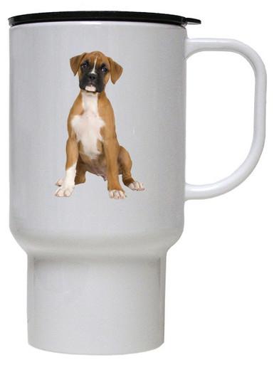 Boxer Polymer Plastic Travel Mug