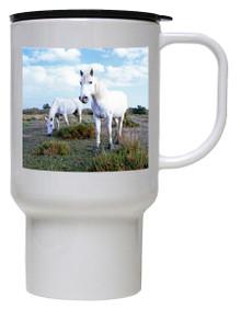 Camargue Polymer Plastic Travel Mug