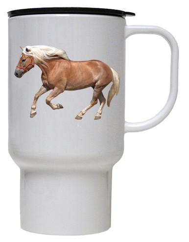 Haflinger Polymer Plastic Travel Mug