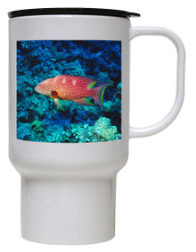 Grouper Polymer Plastic Travel Mug