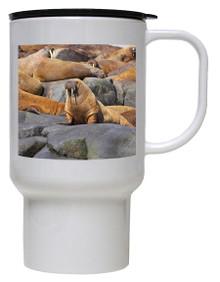 Walrus Polymer Plastic Travel Mug