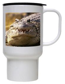 Alligator Polymer Plastic Travel Mug