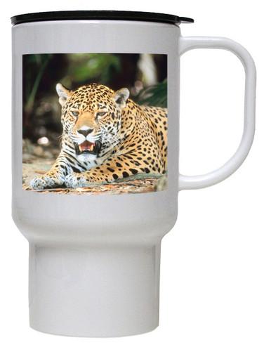 Jaguar Polymer Plastic Travel Mug