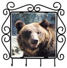 Bear Metal Key Holder