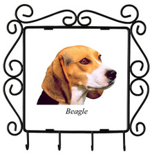 Beagle Metal Key Holder