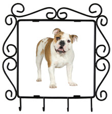 Bulldog Metal Key Holder