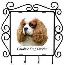Cavalier King Charles Metal Key Holder