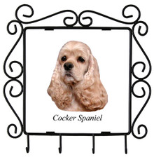 Cocker Spaniel Metal Key Holder