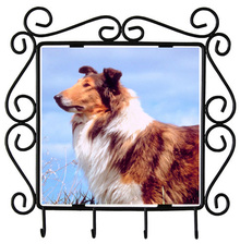 Collie Metal Key Holder