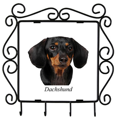 Dachshund Metal Key Holder