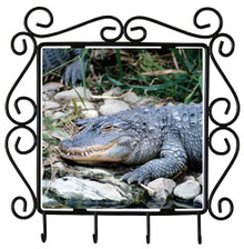 Alligator Metal Key Holder