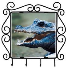 Crocodile Metal Key Holder