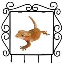 Gecko Metal Key Holder