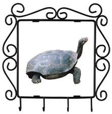 Turtle Metal Key Holder