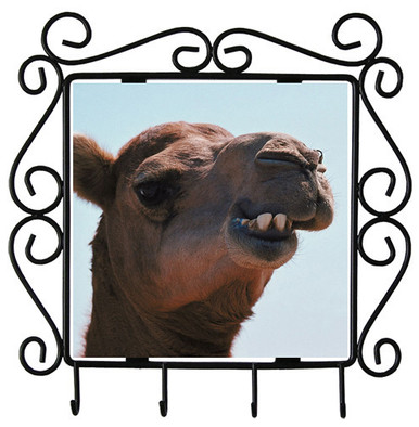 Camel Metal Key Holder