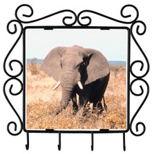 Elephant Metal Key Holder