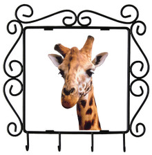 Giraffe Metal Key Holder