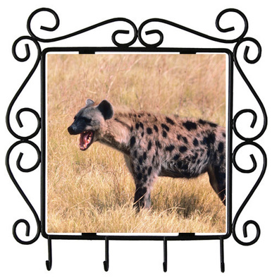 Hyena Metal Key Holder