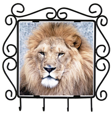 Lion Metal Key Holder