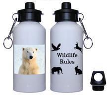 Polar Bear Aluminum Water Bottle