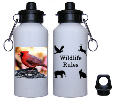 Cardinal Aluminum Water Bottle