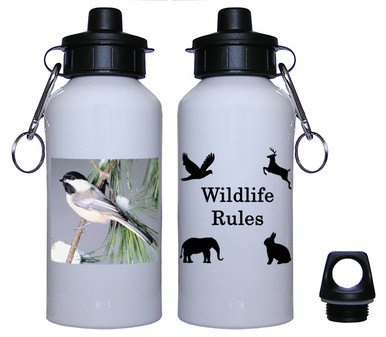 Chickadee Aluminum Water Bottle