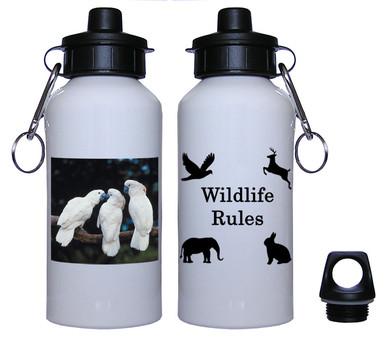 Cockatoo Aluminum Water Bottle