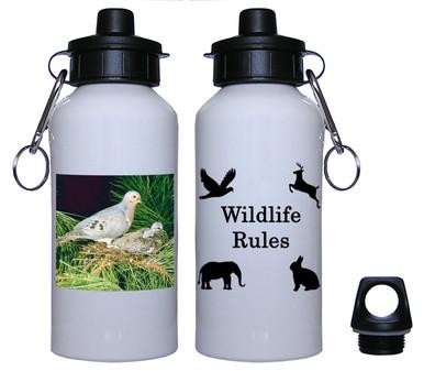 Dove Aluminum Water Bottle