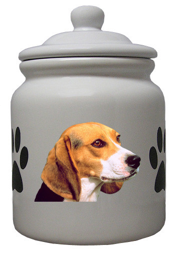 Beagle Ceramic Color Cookie Jar