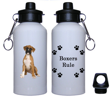 Boxer Aluminum Water Bottle