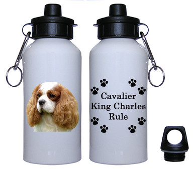 Cavalier King Charles Aluminum Water Bottle
