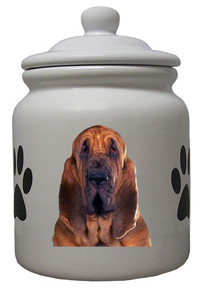 Bloodhound Ceramic Color Cookie Jar
